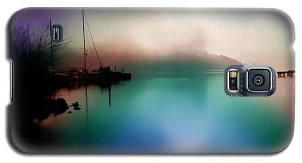 Sun Peeking Through The Clouds  In Kenmore Washington Galaxy S5 Case