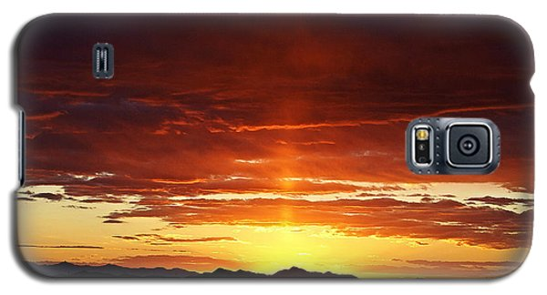 Sun Pillar Galaxy S5 Case