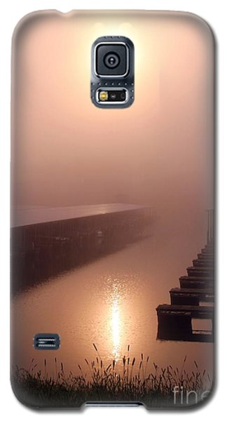Galaxy S5 Case featuring the photograph Sun Refleting On The Water  by Yumi Johnson