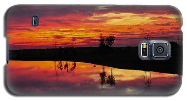 Sun Set At Cowen Creek Galaxy S5 Case