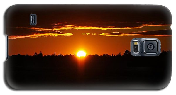 Sun Sets Over Huron Galaxy S5 Case