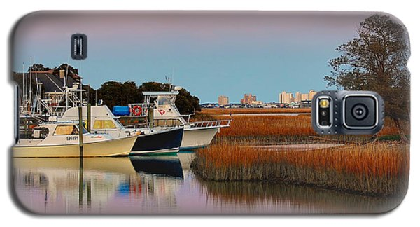 Sun Setting At Murrells Inlet Galaxy S5 Case