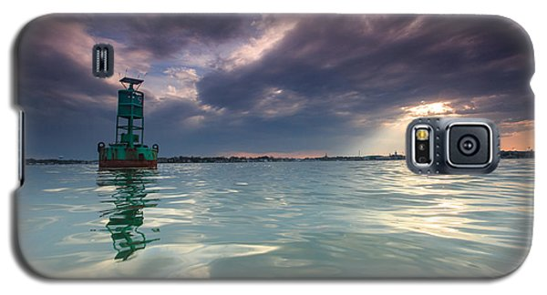 Galaxy S5 Case featuring the photograph Sun Spill Over Annapolis by Jennifer Casey