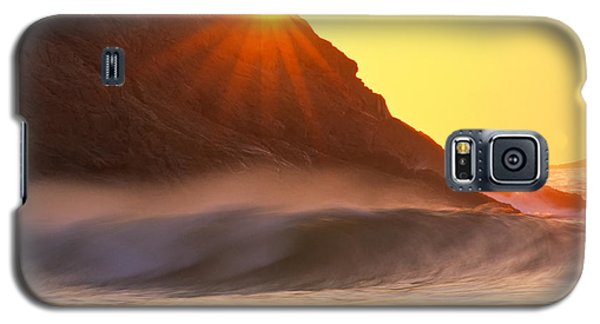 Sun Star Singing Beach Galaxy S5 Case