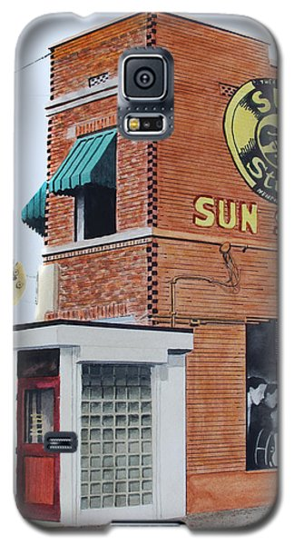 Galaxy S5 Case featuring the painting Sun Studio by Ferrel Cordle