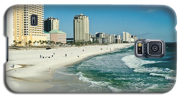 Sun Surf Sand And Condos Galaxy S5 Case