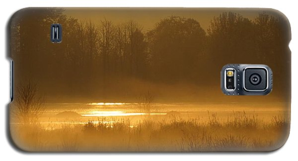 Sun Up At The Refuge Galaxy S5 Case by I'ina Van Lawick
