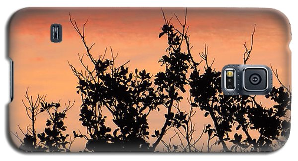 Galaxy S5 Case featuring the photograph Sun Up Silhouette by Joy Hardee