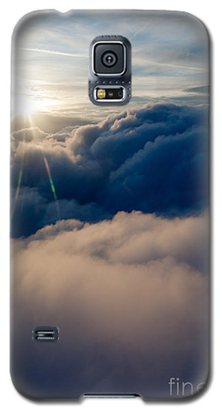 Sunburst Above The Clouds Galaxy S5 Case