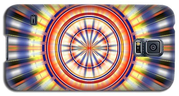 Galaxy S5 Case featuring the digital art Sunburst by Brian Johnson