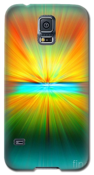 Galaxy S5 Case featuring the photograph Sunburst by Clare VanderVeen