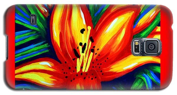 Sunburst Galaxy S5 Case by Jackie Carpenter