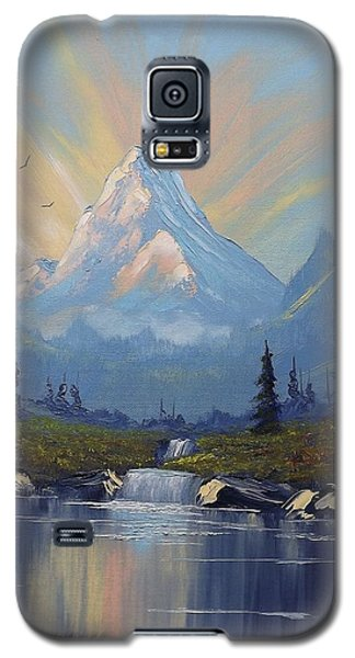 Sunburst Landscape Galaxy S5 Case by Richard Faulkner