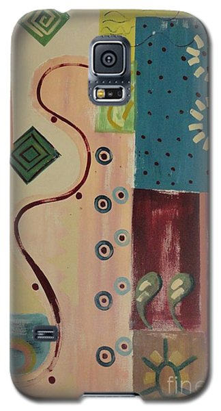 Galaxy S5 Case featuring the painting Sundance by PainterArtist FIN