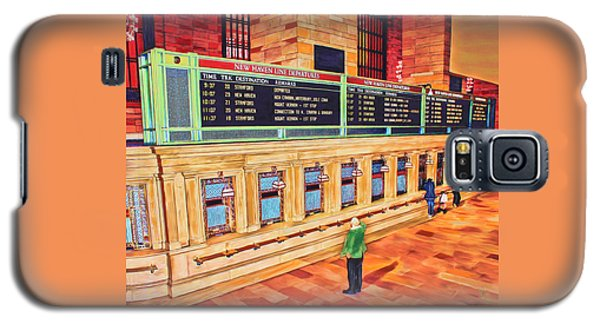 Sunday Am At Grand Central Galaxy S5 Case
