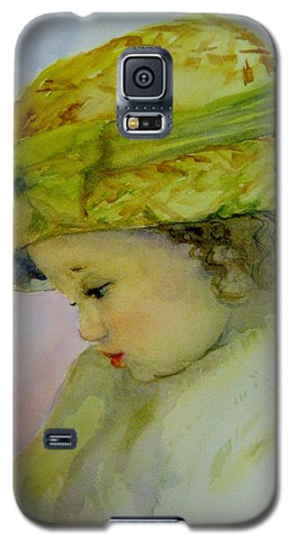 Galaxy S5 Case featuring the painting Sunday Best by Lori Ippolito