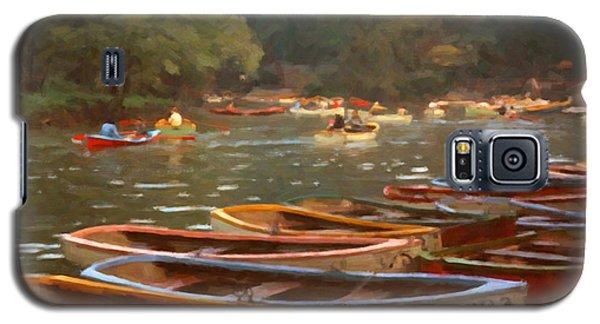 Galaxy S5 Case featuring the digital art Sunday In Chapultepec Park by Spyder Webb