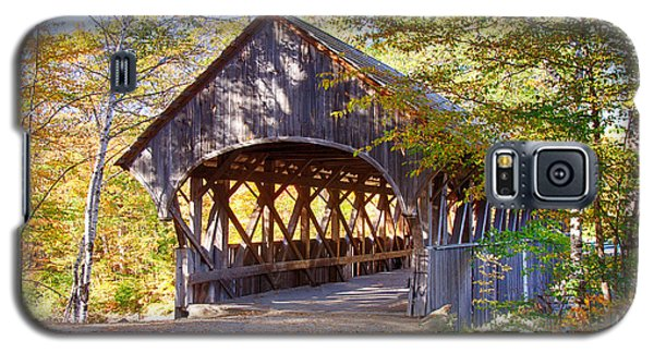 Sunday River Covered Bridge Galaxy S5 Case by Jeff Folger