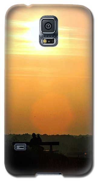 Sunday Sunset Galaxy S5 Case