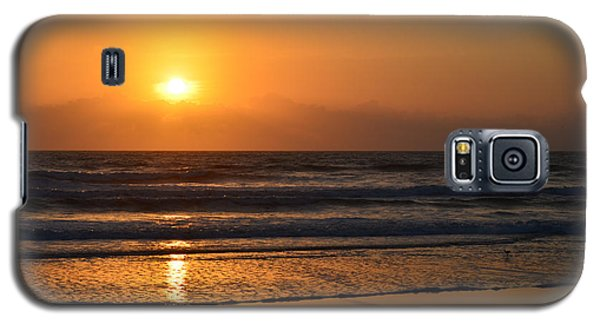 Galaxy S5 Case featuring the photograph Sundays Golden Sunrise by DigiArt Diaries by Vicky B Fuller