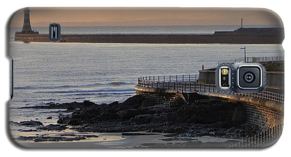 Sunderland Sunrise Galaxy S5 Case by Julia Wilcox