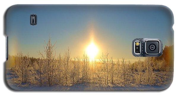 Sundogs In Winter Wonderland Galaxy S5 Case