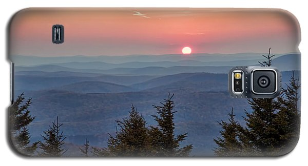 Sundown From Spruce Knob Galaxy S5 Case
