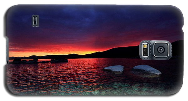 Sundown In Lake Tahoe Galaxy S5 Case