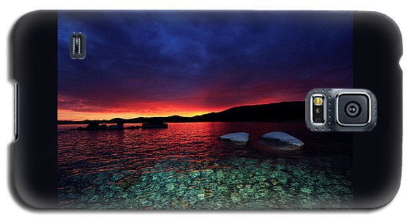 Sundown In Lake Tahoe Galaxy S5 Case