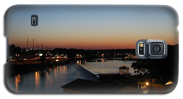 Sundown On The Schuylkill Galaxy S5 Case by Christopher Woods
