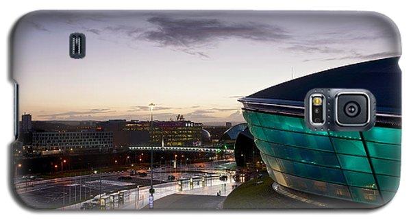Sundown Over Glasgow Galaxy S5 Case by Stephen Taylor