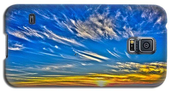 Sundown Over Pacific Galaxy S5 Case