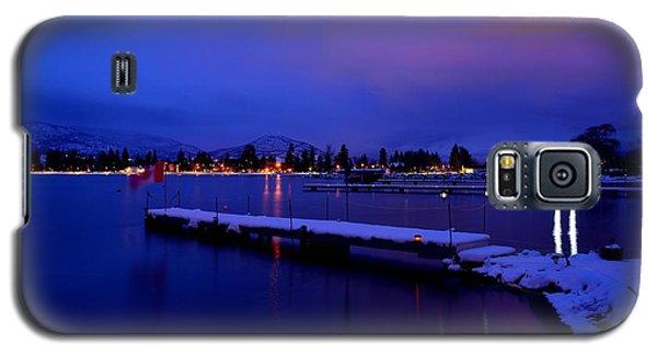 Sundown - The Blue Hour At Skaha Lake Galaxy S5 Case