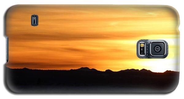 Sundre Sunset Galaxy S5 Case