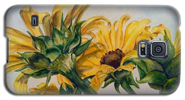 Sunflower 4 Galaxy S5 Case