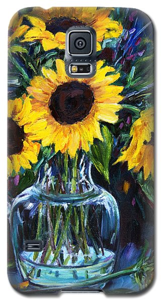 Sunflower Bouquet  Galaxy S5 Case