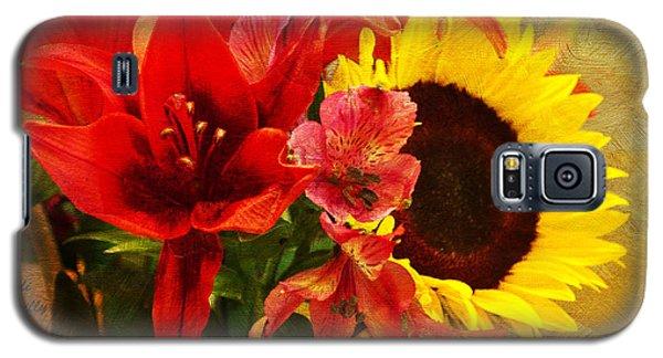 Sunflower Bouquet Galaxy S5 Case by Sandi OReilly