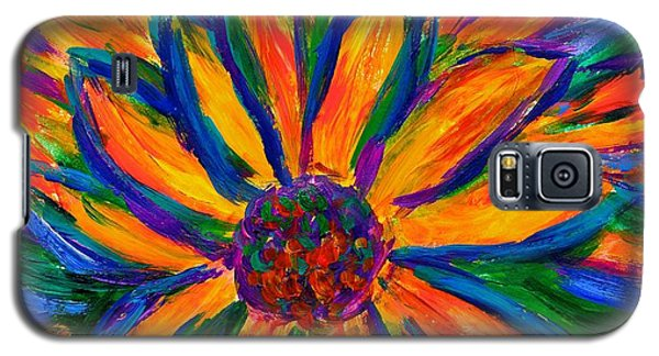 Sunflower Burst Galaxy S5 Case