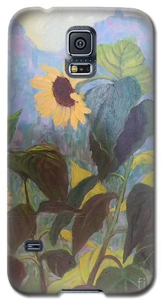 Sunflower City 1 Galaxy S5 Case