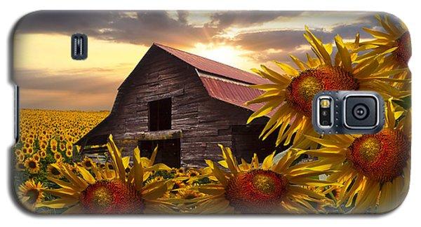 Sunflower Dance Galaxy S5 Case