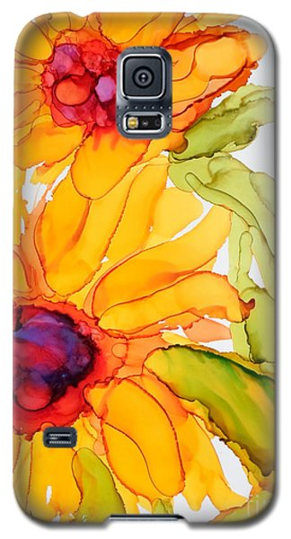 Sunflower Duo Galaxy S5 Case by Vicki  Housel