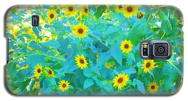 Sunflower Forest Galaxy S5 Case