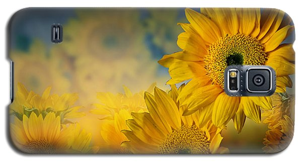 Sunflower Garden Galaxy S5 Case