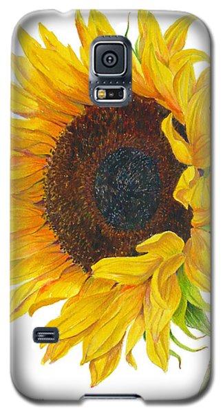 Sunflower - Helianthus Annuus Galaxy S5 Case