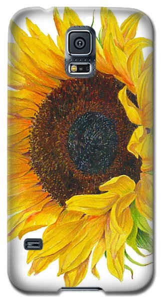 Sunflower - Helianthus Annuus Galaxy S5 Case