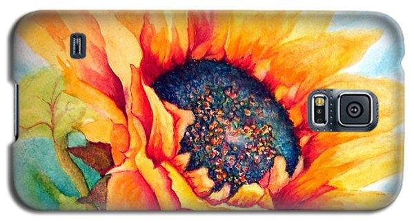 Sunflower Joy Galaxy S5 Case by Janine Riley