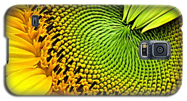 Sunflower Kaleidescope Galaxy S5 Case