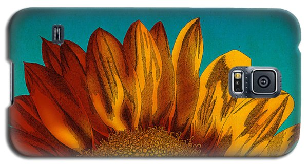 Sunflower Galaxy S5 Case by Meg Shearer