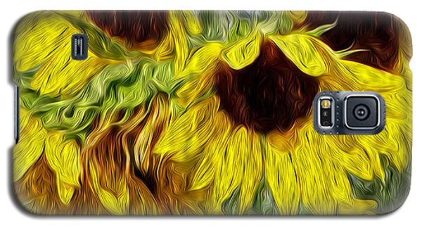 Sunflower Morn  Galaxy S5 Case by Ecinja Art Works