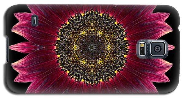 Sunflower Moulin Rouge I Flower Mandala Galaxy S5 Case